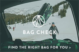 Bag Check - Find the right bag for you