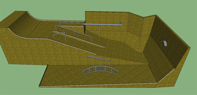 2015 Burton Rail Days Course Design